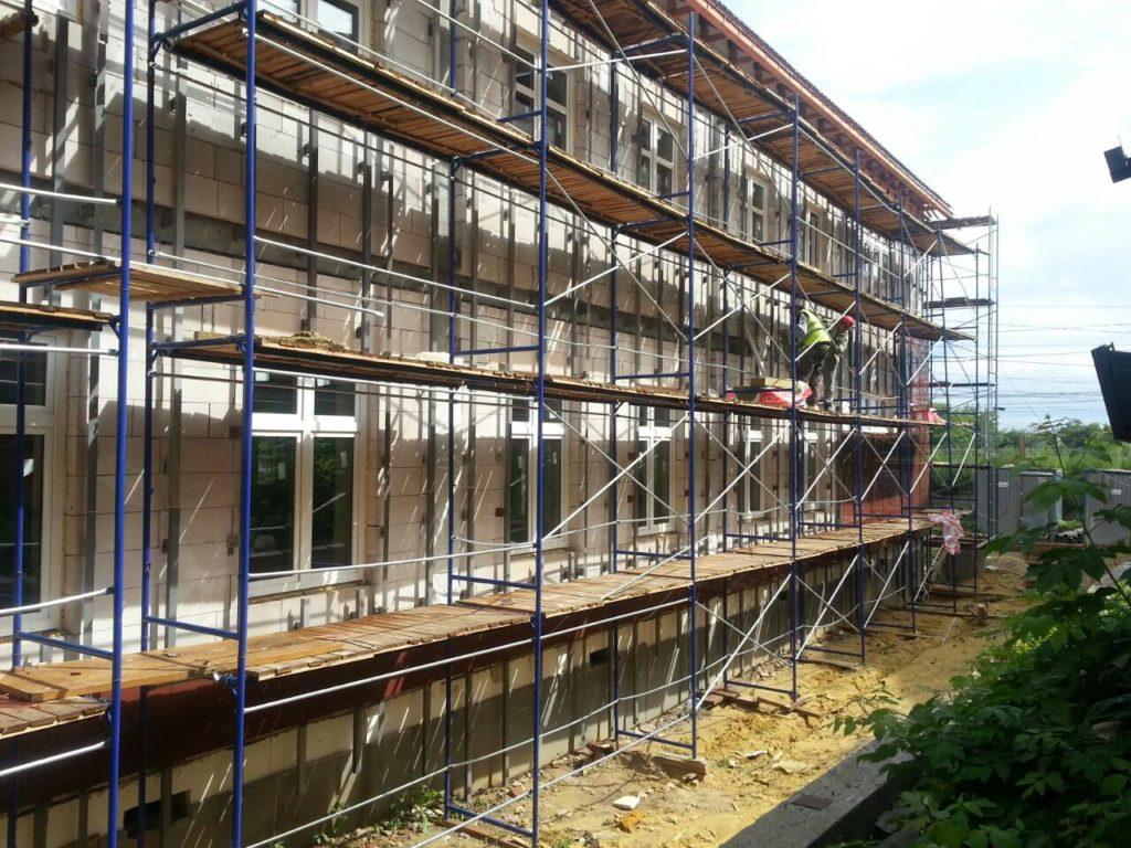 Фасадные работы - вентилируемый фасад